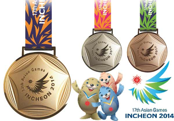 Asian Games 2014 Medal Tally