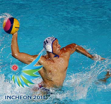 Asian game water polo