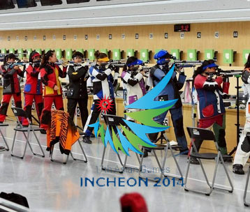 Asian Games 2014 Shooting Results and Medal winners list