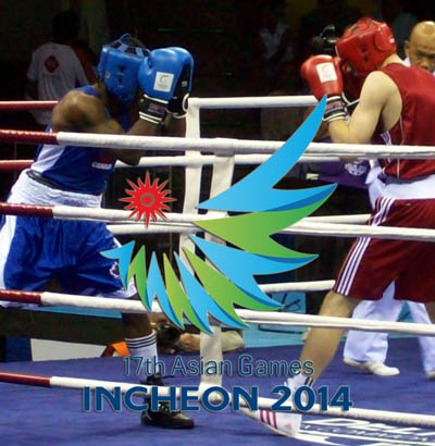 Asian Games 2014 Boxing Results and Medal Holders List