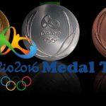 Rio 2016 Medal Tally